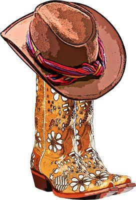 Cowboy Boots Cowboy Hat Png Clip Art By Digitalgraphicsshop Cowboy Hats Women Cowboy Hats Clip Art