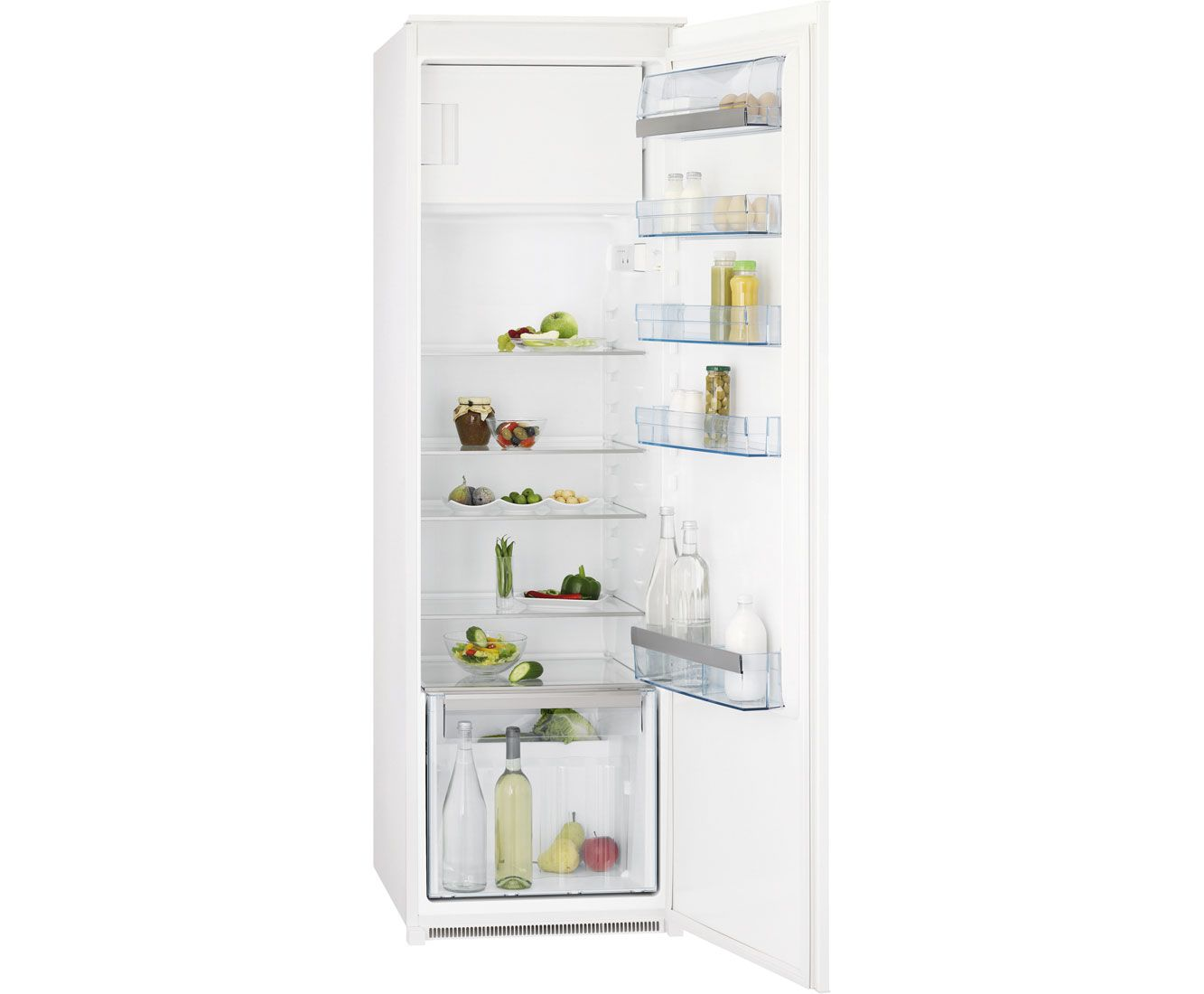 AEG Santo SKS61840S1 Integrated Upright Fridge with Ice Box | Swoop ...