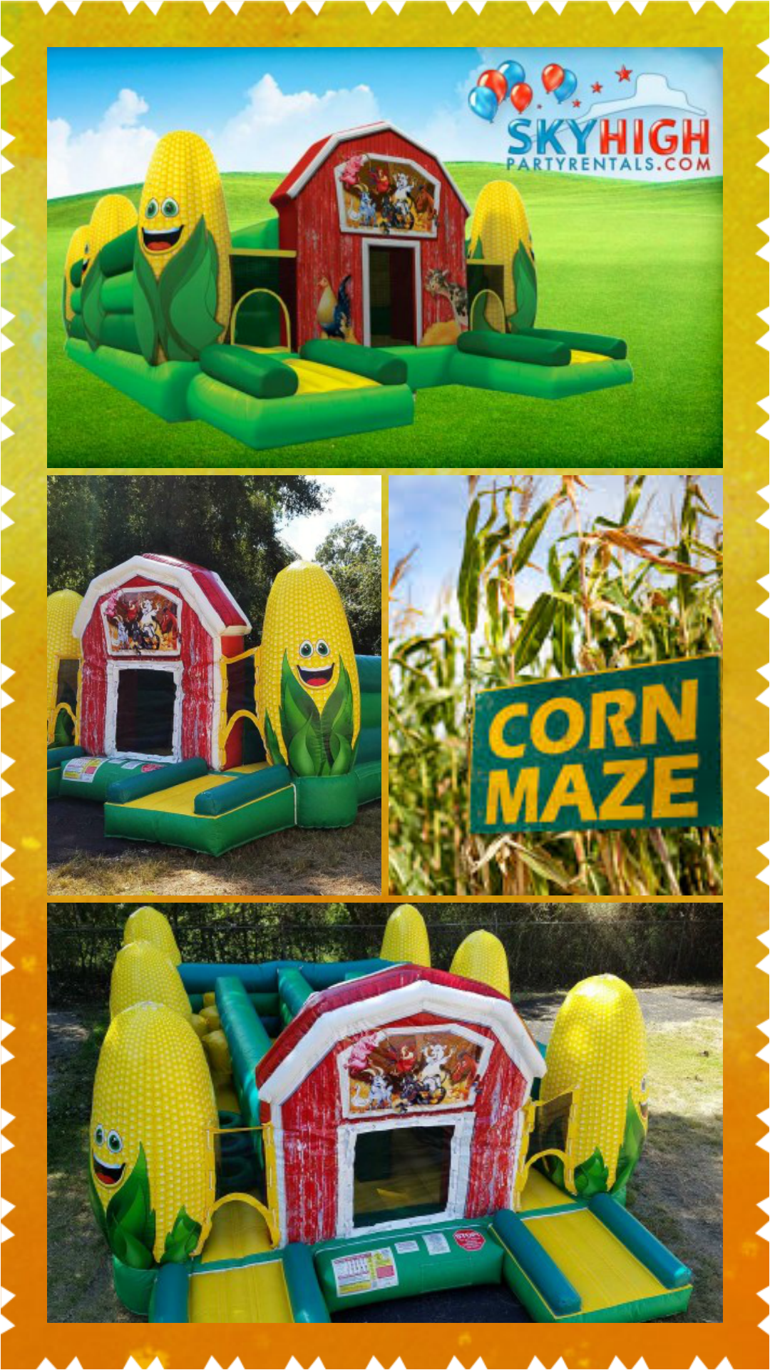 the corn maze obstacle course is one of our newest most exciting