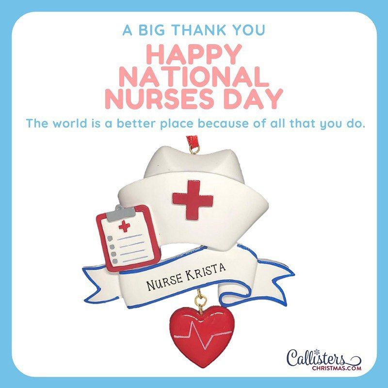 Happy National Nurses Day to our truetolife heroes on