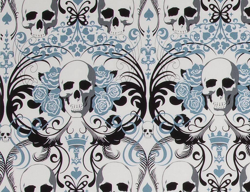 Alexander Henry Regent Skull in Blue