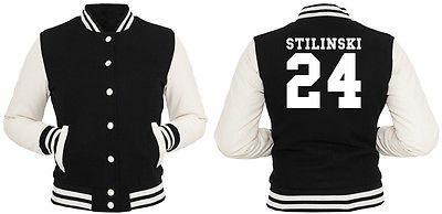 Stilinski 24 Sweater Girls Grey Teen Wolf Vampire Werwolf Dylan O`Brien Styles