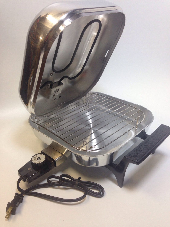 Sunbeam Fry Pan Broiler Lid Electric Skillet Small