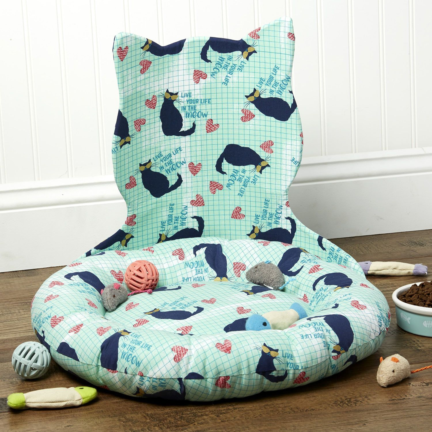 How To Sew A Purrfect Cat Bed JoAnn JoAnn Diy cat