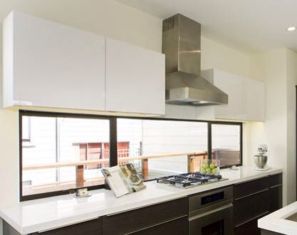 Cocina ventana ideje za stan cocinas ventanas de for Ventanas de aluminio para cocina