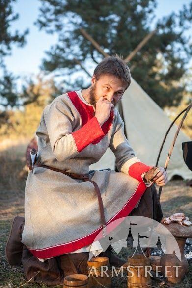 Tunique viking de toile de sac «Bjorn le Chasseur» par ArmStreet