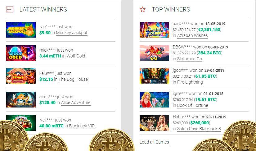 kazino su bitcoin