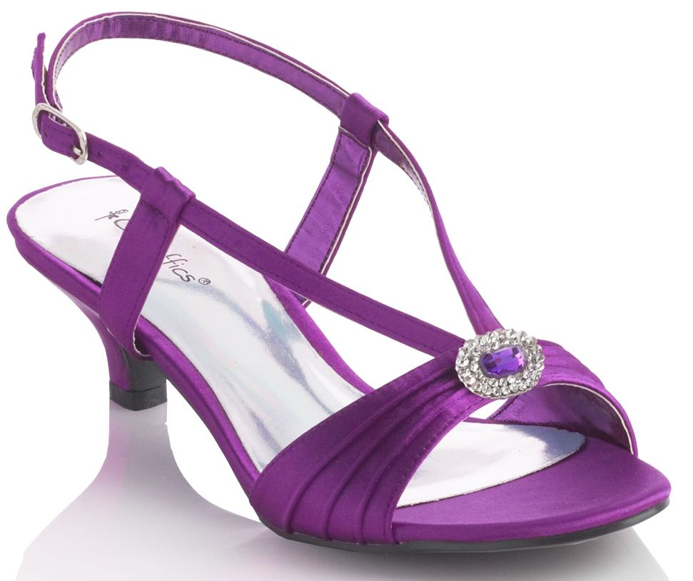 Flat Purple Bridesmaid Shoes