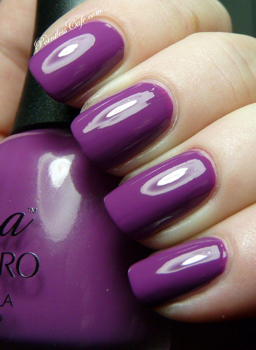 Nina Ultra Pro Fuchsia Nail Lacquer #nails #nailpolish #manicure ...