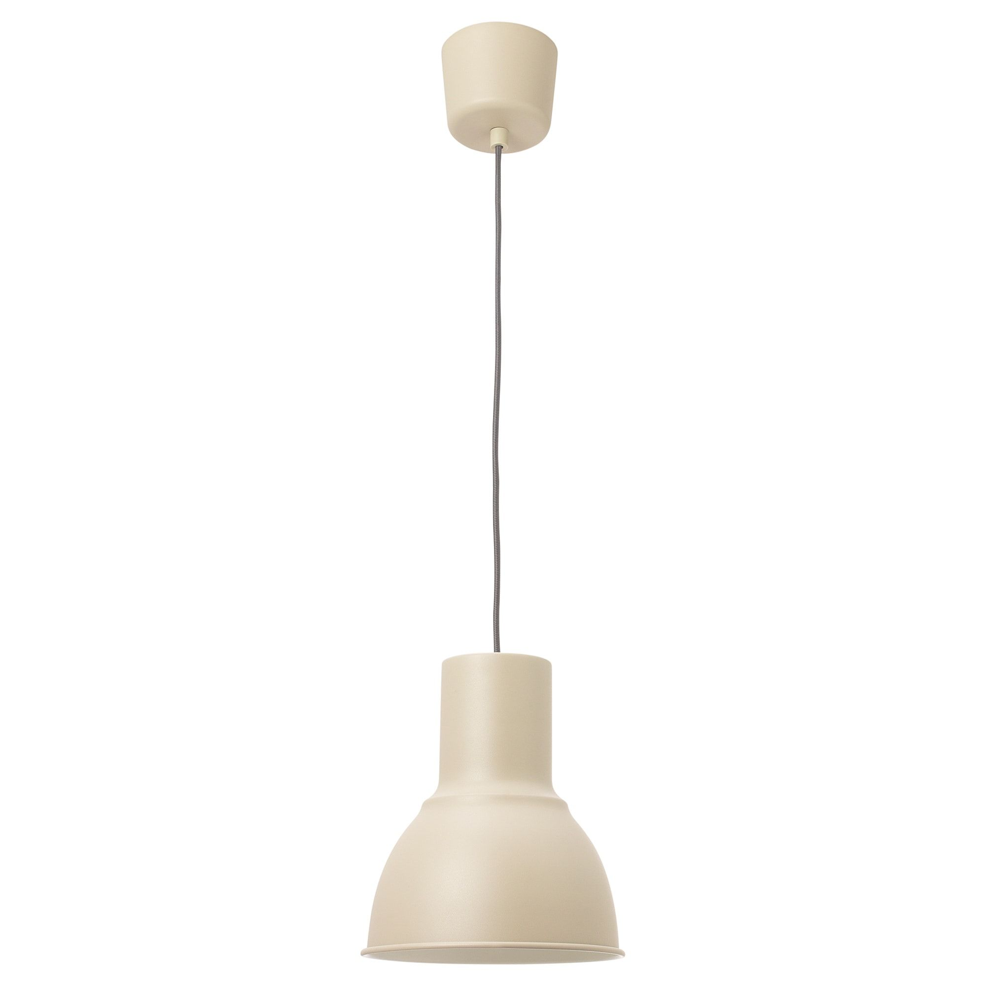 Ikea Hektar Pendant Lamp Beige This Lamp Gives A Pleasant
