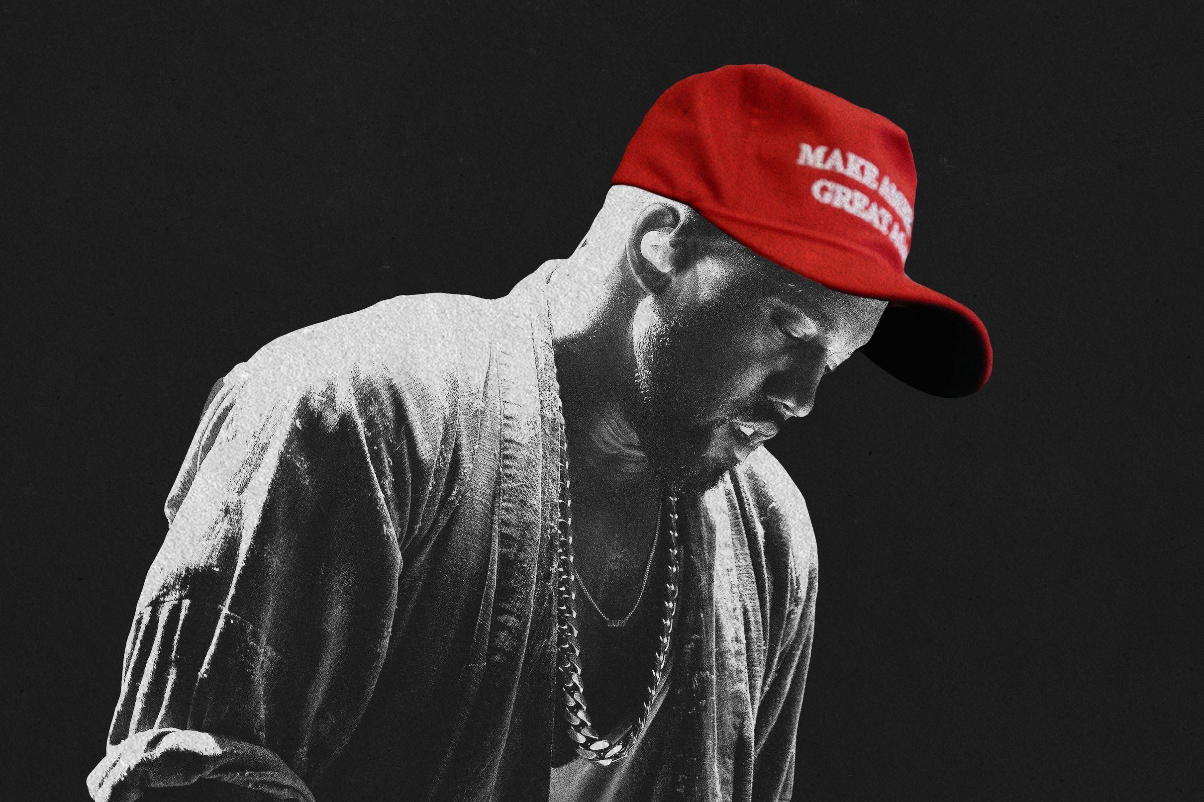 The Kanye West Delusion The Ringer Kanye West Kanye Trump Photo