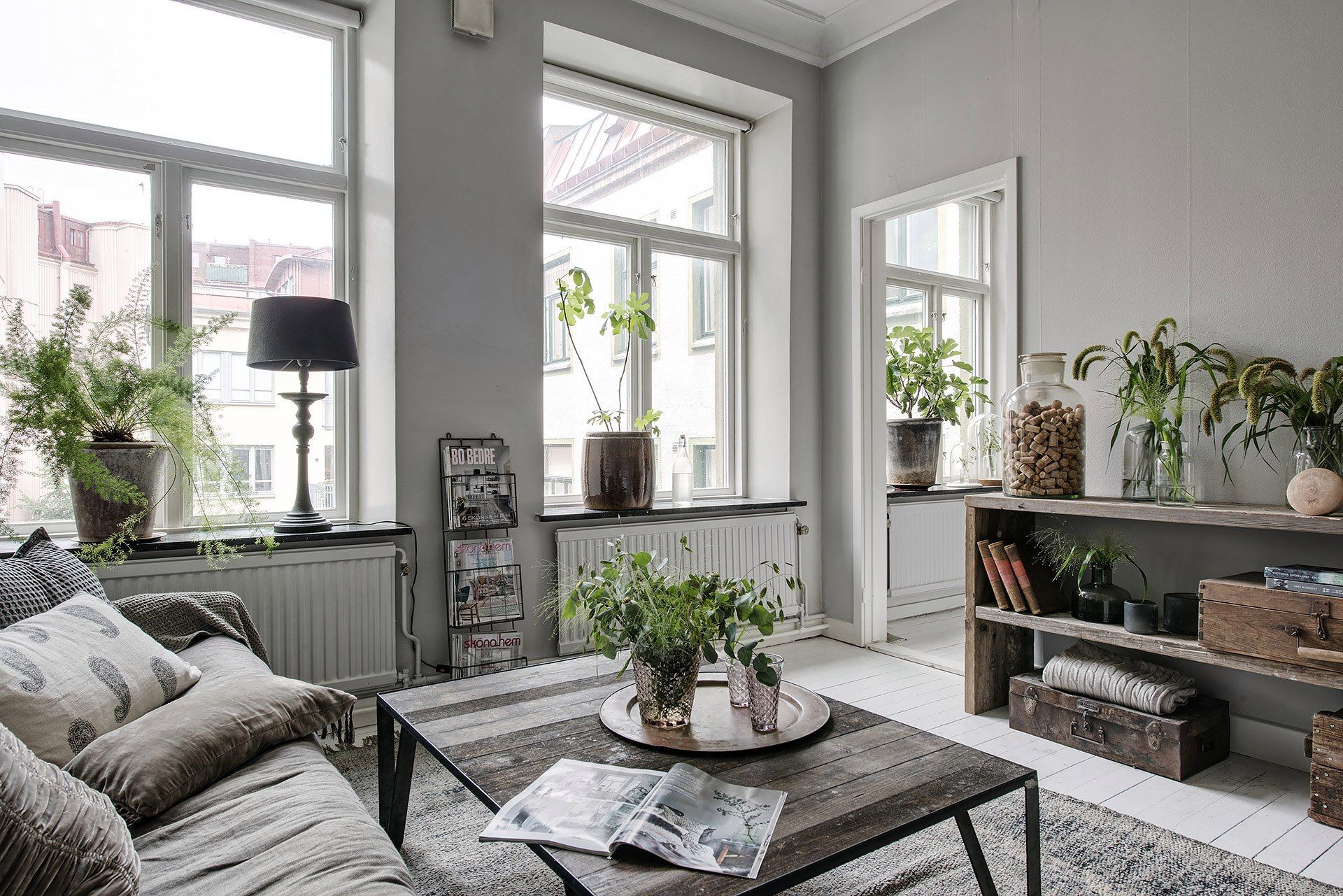 Скандинавский стиль в интерьере | Интерьер | Pinterest