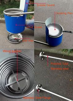 Stainless steel coil heat exchanger for dutch tub wood - Homemade swimming pool heat exchanger ...