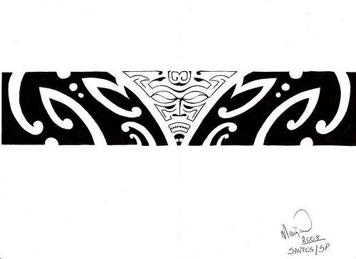 tattoo bracelete maori kirituhi_do Alemão BBB 7 | Flickr - Photo Sharing!