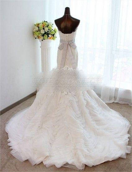 Robe de mariee style vera wang