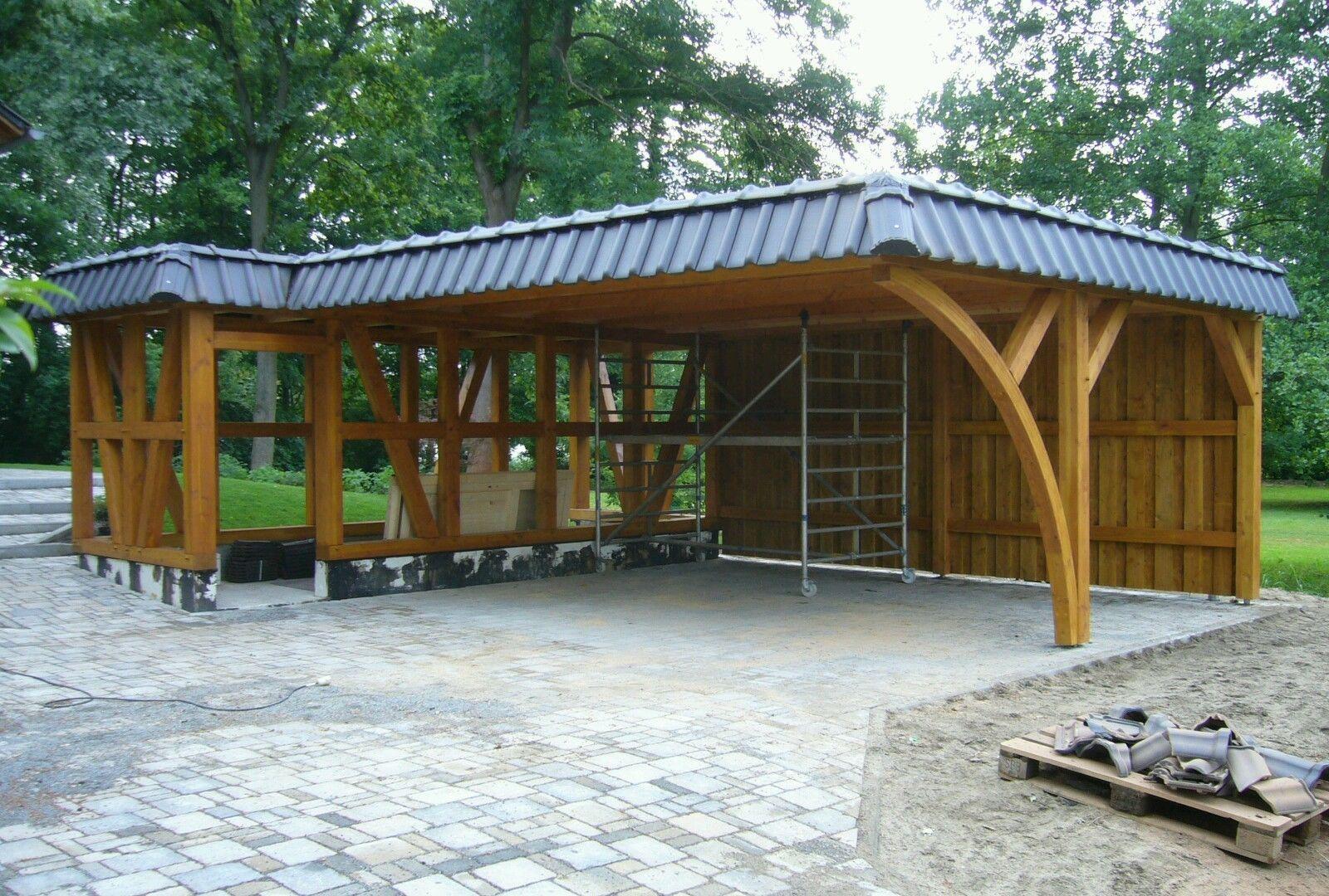 Fachwerk Carport Garage Ebay Pins Jorn Garten Fachwerk Und