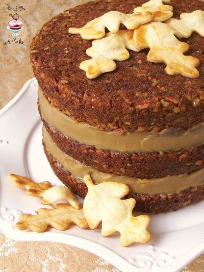 Im Totally Making This For Nates Birthday It Combines His Favorite Pecan Pie With Mine Cake