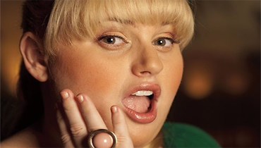 plus size actress Rebel Wilson