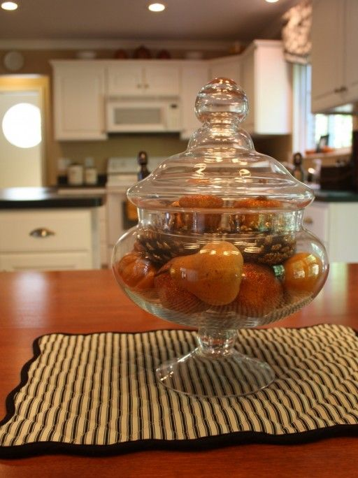 Kitchen Jar Decoration Glamorous Hooked On House Tours Fall Edition  Apothecaries Jar And Google Inspiration