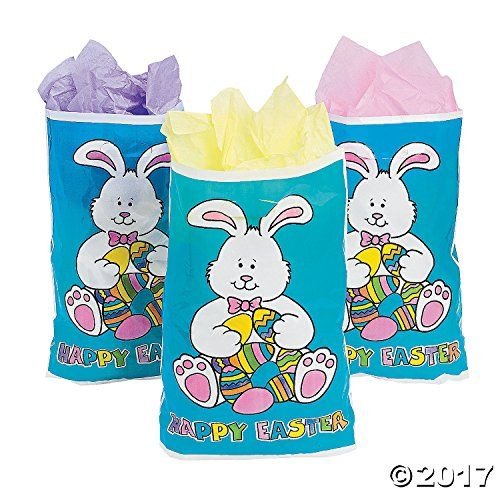 50 large happy easter purple goody bags easter goody gifts bags 50 large happy easter purple goody bags easter goody gifts bags party favors negle Images