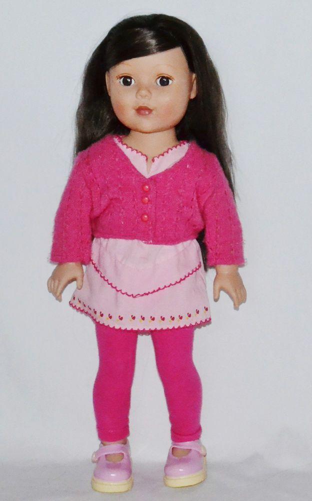 "Madame Alexander 18"" Girlz Doll Brown Hair & Brown Eyes XLNT #MadameAlexander #DollswithClothingAccessories"