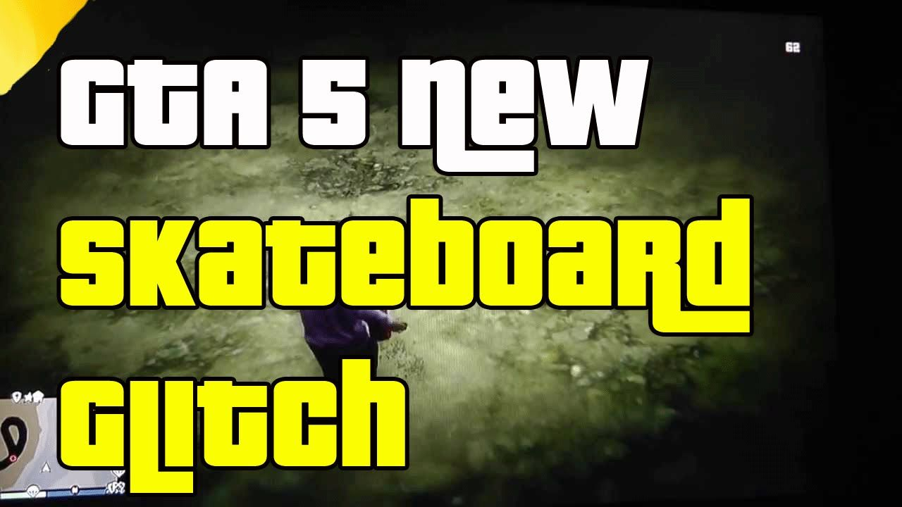 GTA 5 Online Skateboard Glitch After Patch 1.15 (GTA 5