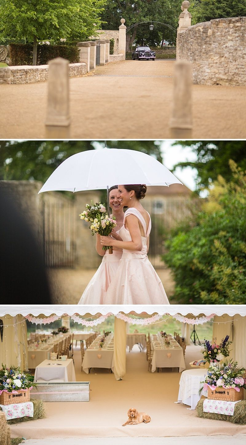 An English Country Garden themed wedding with a bride in Marianne by
