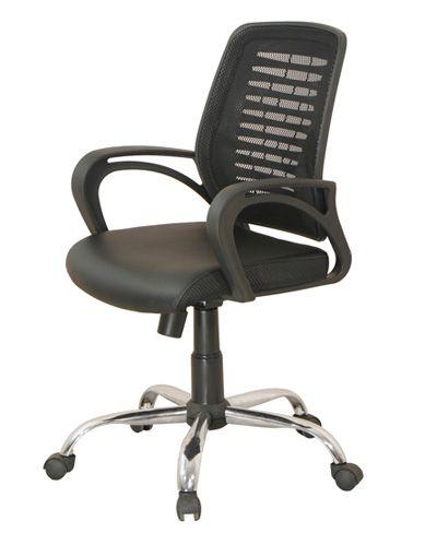 Ghế xoay lưới GX18B Ghế xoay GX18B-M  là loại ghế dùng cho văn phòng, Mặt ngồi bọc da, đệm mút dày êm ái, sang trọng, mặt ngồi vát kiểu thác nước giúp người sử dụng có thể ngồi lâu mà không bị tê chân. Tựa lưng được bọc bằng lưới kết hợp với khung nhựa đàn hồi cao cấp giúp cho ghế có độ thoáng mát và thoải mái khi bạn làm việc trong thời gian dài.