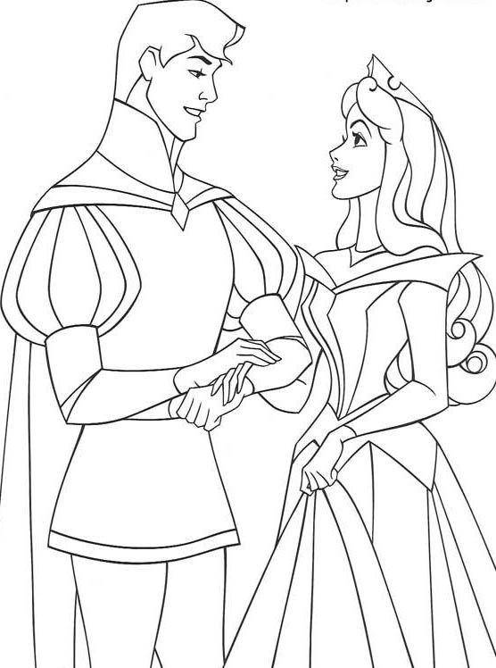 Disney coloring page | その他 | Pinterest | Colorear, Aurora y Pintar