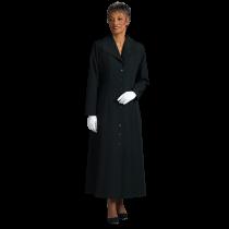464002b6374 Womens Black Clergy Church Dress with Praying Hands