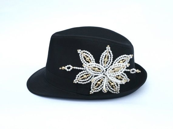 Tembleque Panameños Fedora sombreros para las mujeres por QXPShop  Supernatural Styl 51360704b6e