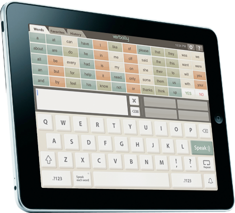 Verbally for iPad by Intuary Verbally is a comprehensive
