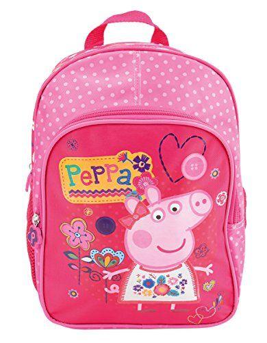 design intemporel 14dbf 43eeb Peppa Pig Sac a dos école maternelle et loisirs ...