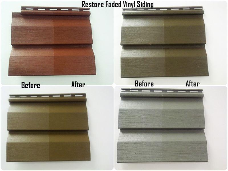 Envirolon waterborne coating made by VIVILON: Restores vinyl house ...