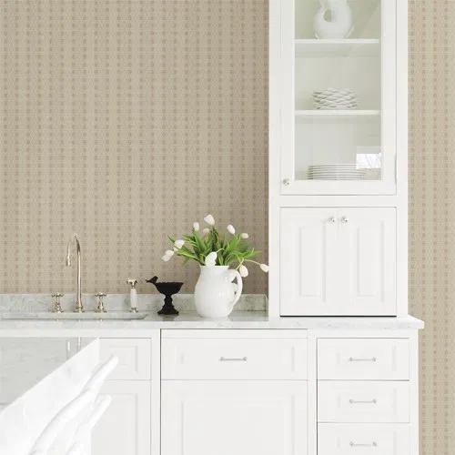 Taylor Diamond Wallpaper By Brewster Lelands Wallpaper Home Decor Ebern Designs Study Decor
