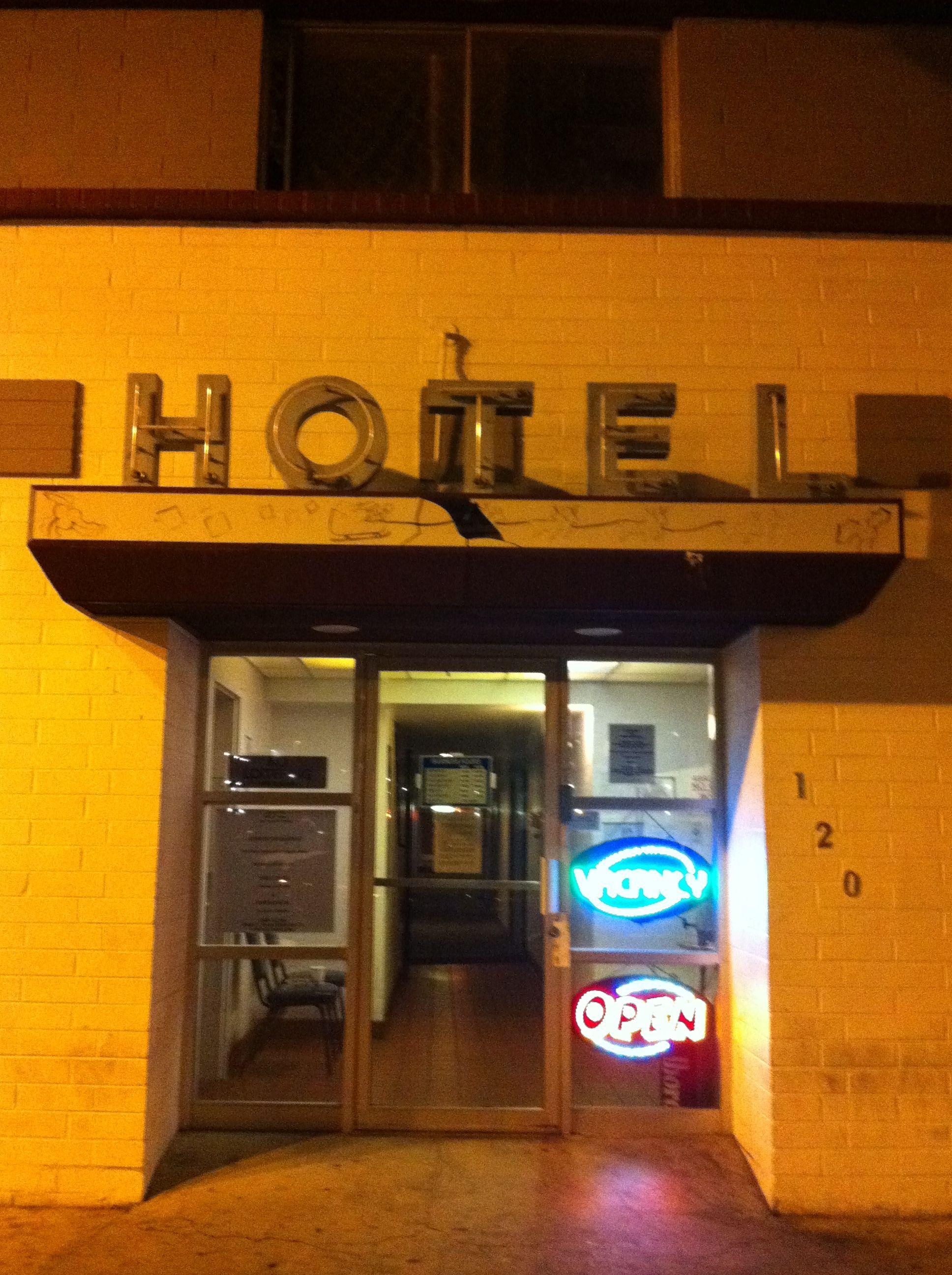 Seedy hotel, Downtown Las Vegas | Downtown las vegas, Las ...
