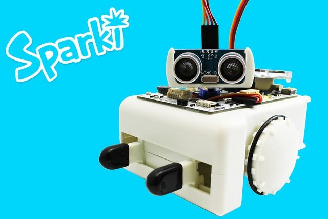 Sparki, the Playful Way to Learn Robotics and Programming