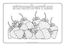 Oliver's Fruit Salad colouring sheets (SB8780
