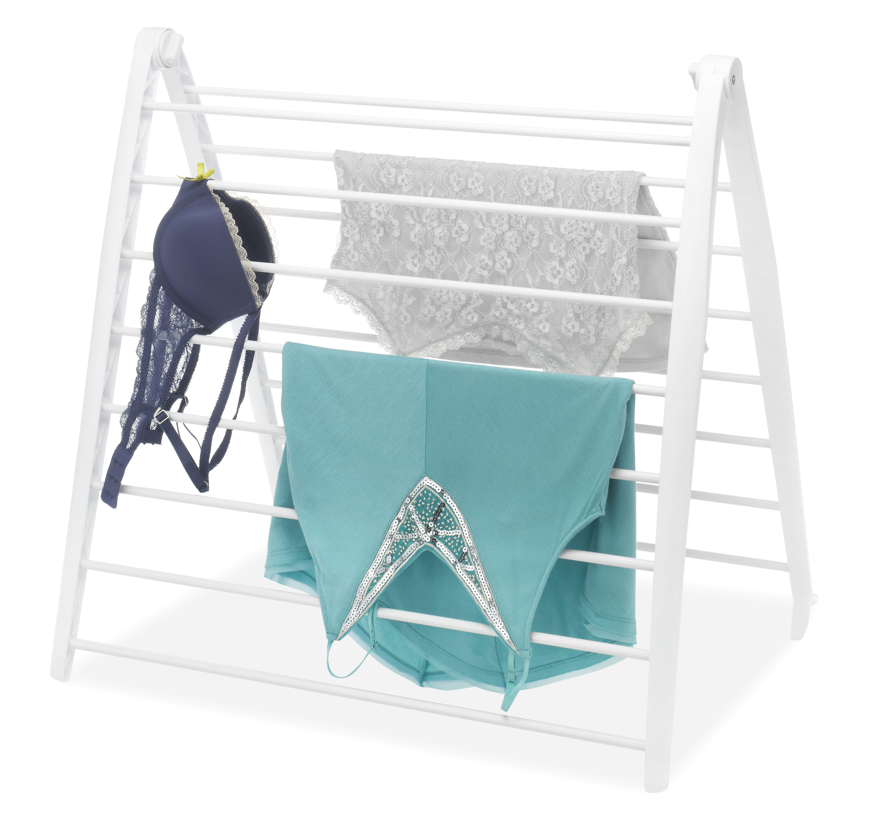 mainstays space saving folding drying rack white walmart com in 2020 drying rack clothes drying racks drying rack laundry