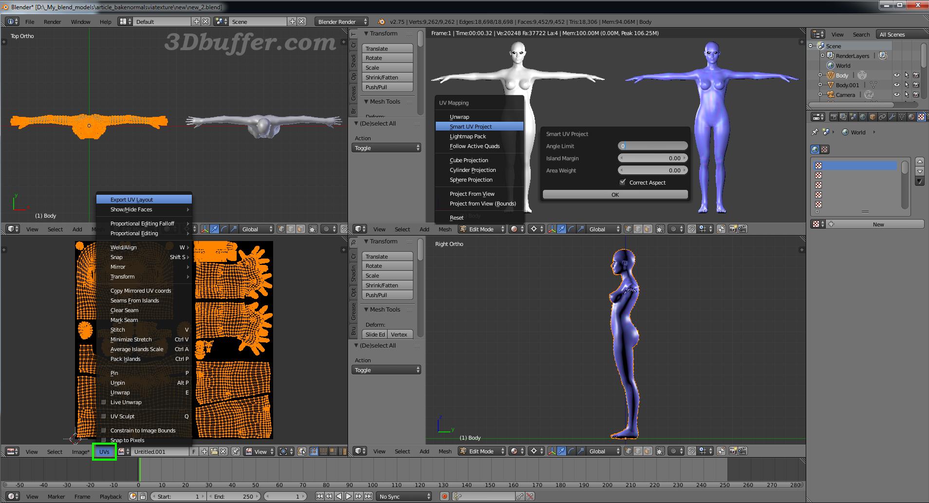 3D models Unity3D, Blender, Unity 3D, 3D characters, Fuse