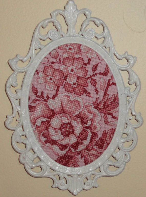 hand stitched toile, french country shabby chic style wall wear