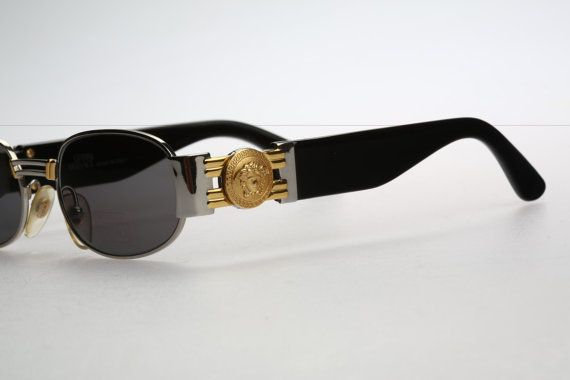 eb5597af8be3 Gianni Versace Mod S70   Vintage sunglasses   by CarettaVintage ...