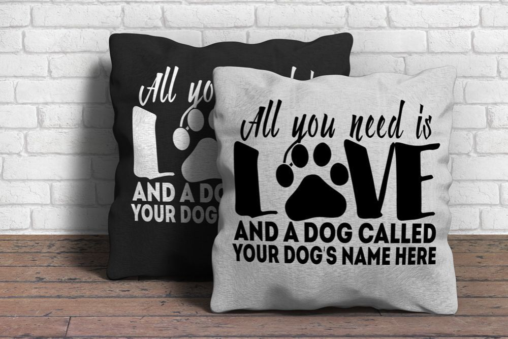 Home & Garden Home Textile Lovely Animals Pet Dog Puppy Cat Pattern Cushion Cover For Sofa Home Decor Almofadas 18 Inch Decorative Throw Pillows Case Jade White