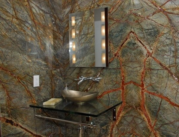 rainforest marble bathroom Google Search Design Pinterest