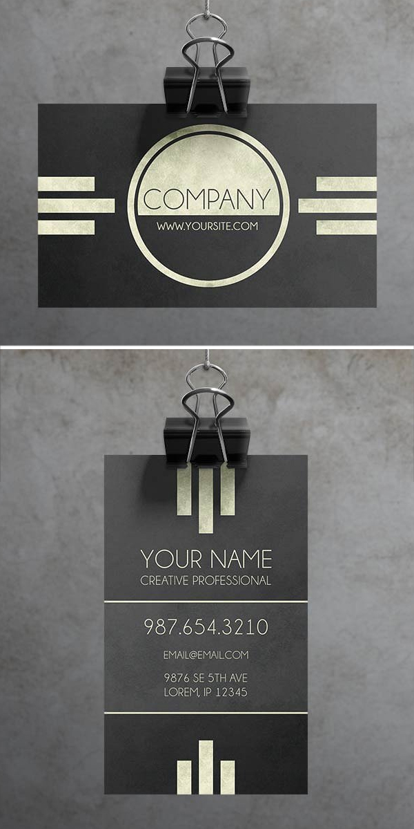 Caveat Art Deco Business Card Get More Beautiful And Unique Business Card Today At Www Roc Art Deco Business Card Art Business Cards Business Cards Creative