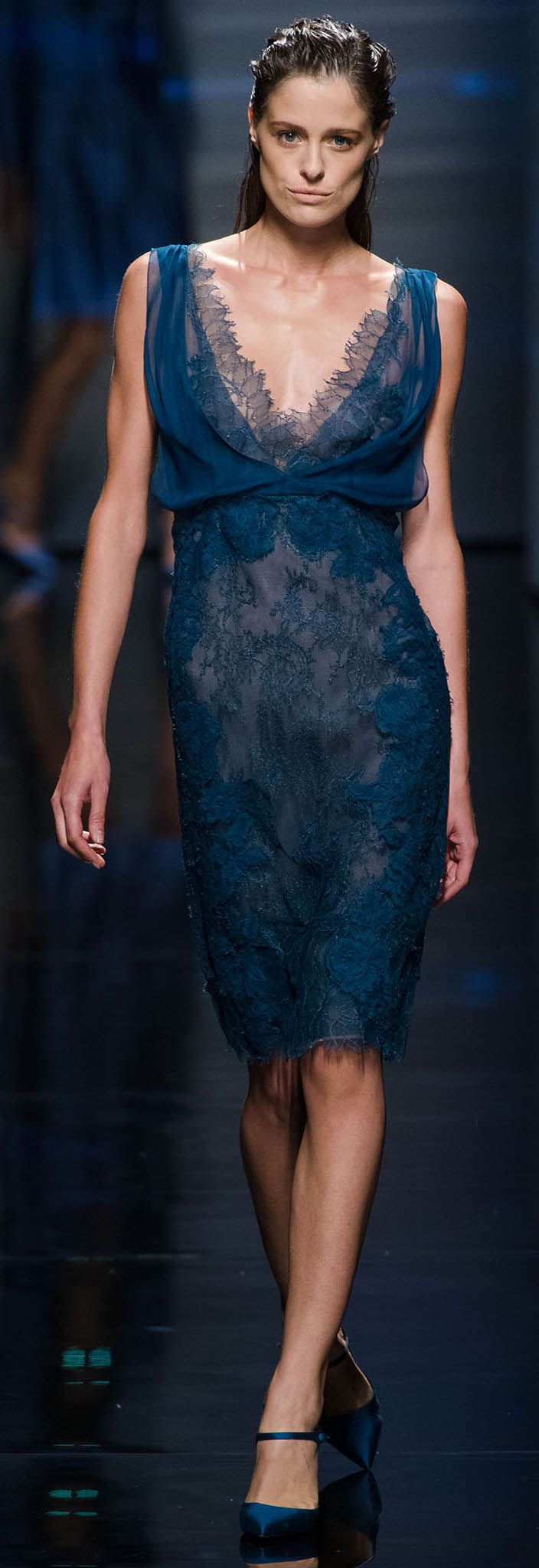 Farb-und Stilberatung mit www.farben-reich.com Alberta Ferretti Spring Summer 2013 Ready To Wear Collection