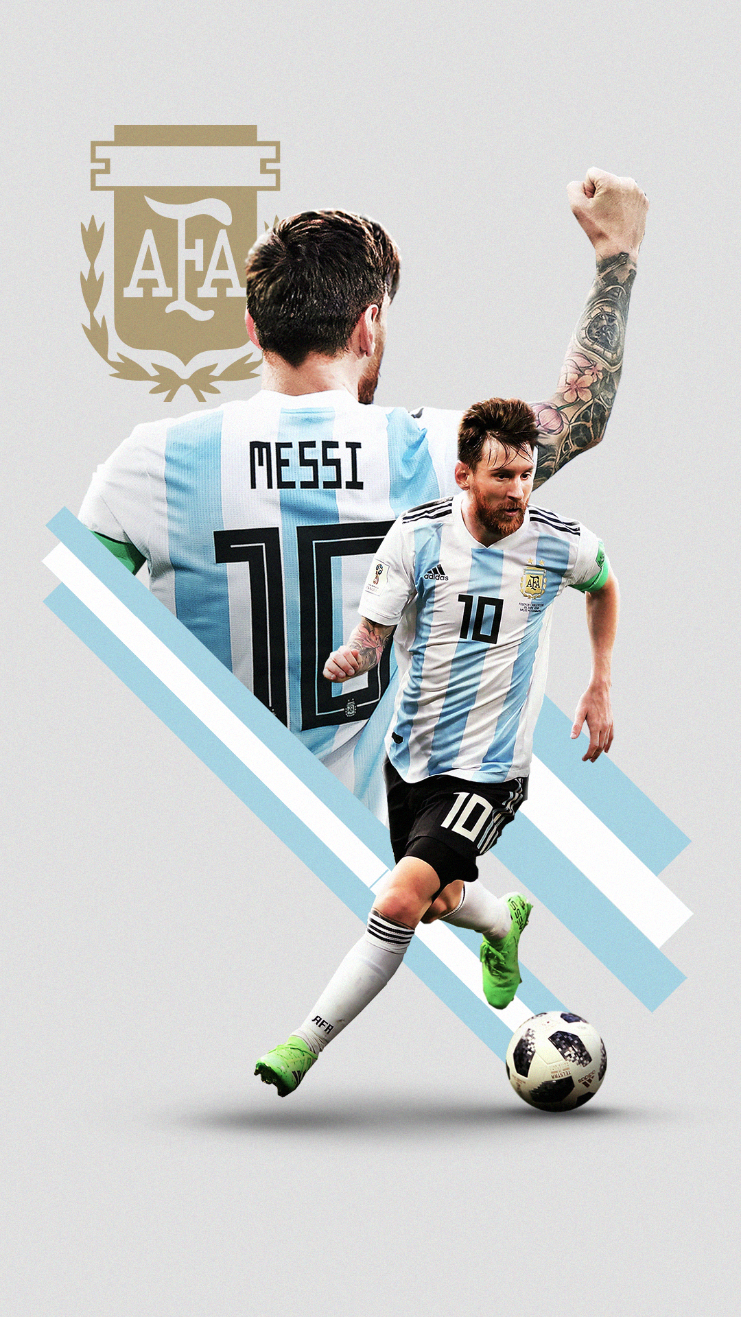 World Cup 2018 on Behance | Barcelona | Messi argentina