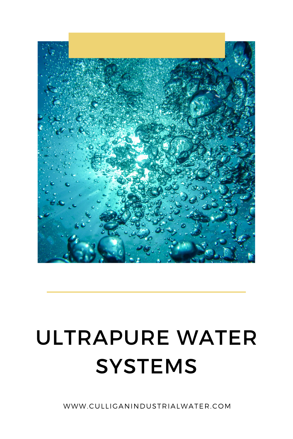 Ultrapure Water Systems In 2020 Water Systems Water Treatment System