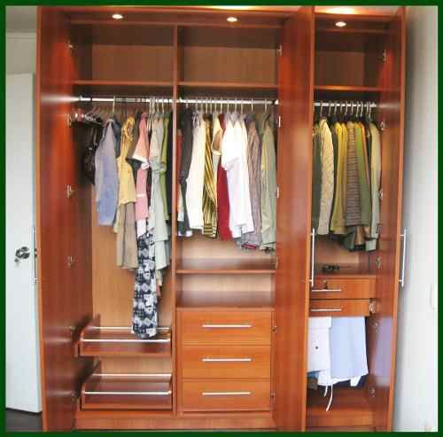 Roperias closet-closets-muebles-madera-diseno-y-fabricacion - muebles en madera modernos