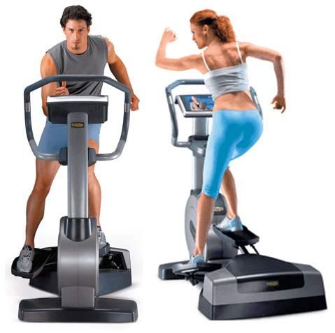 it looks like an ellipticalbut it's not thetechnogym